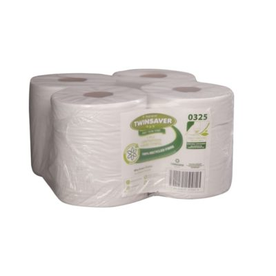 1 X Ply Centrefeed Towel-240Mm X 360Mm (4 X Pack)